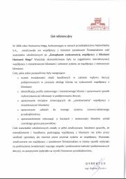 List referencyjny - Nadwiślanka