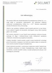 List referencyjny - Sillmet